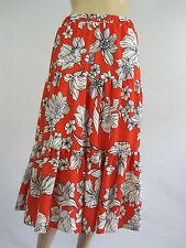 Crossroads Ladies Cuba Carnival Tiered Midi Skirt sizes 8 10 12 14 16 18 22