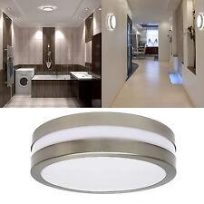Decken Wandleuchte IP44 E27 Deckenlampe Wandlampe für LED 1 - 6 x SAVONA II rund