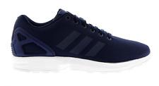 Hombre Adidas ZX FLUX AZUL OSCURO Zapatillas de tela bb3717
