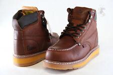 Men's Work Boot Cobra C27M Dark Brown Genuine Leather Goodyear Welt Construction