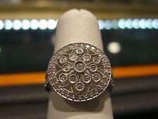 WOMENS 0.75 CARAT DIAMOND RING 18 KARAT WHITE GOLD NEW ROUND DIAMONDS NEW!!