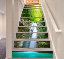 3D Waterfall Photos 474 Risers Decoration Photo Mural Vinyl Decal Wallpaper CA