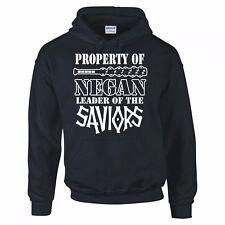 """The Walking Dead """"propiedad de Negan, Salvadores. líder"""" con Capucha Nueva"""