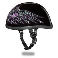 New Daytona Helmet Skull Cap EAGLE WIRE HEART Motorcycle Helmet 6002BWH