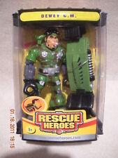 Rescue Heroes 2004 Collectors Edition Dewey C.M. Factory Sealed!