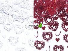 15g Streu-Deko Herzen 13,26EUR/100g Konfetti Hochzeit Party Tischdeko confetti