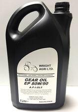 Gear Oil EP 5L 80w - 90 API GL5 SAE 80/90  5,10,15,20 Litre