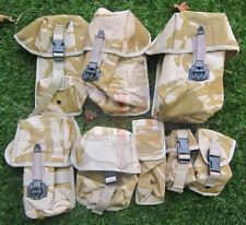 UK BRITISH ARMY SURPLUS G1 DDPM CAMOUFLAGE CODURA NYLON LC VEST MOLLE POUCHES