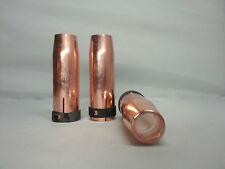 Gasdüsen MB 401 501 TBI 266 411 511 MHS35 400 500 D MIG/MAG Nozzle NW 14 / 16 mm