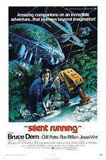 Silent Running Movie POSTER (1972) Fantasy/Drama