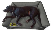 Dog Doza Waterproof Sofa Dog Bed Grey M L XL XXL GB UK British