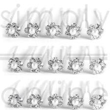 Parelmoer bloem Diamante Crystal Hair Clips Prom bruiloft bruids partij 10 20 50