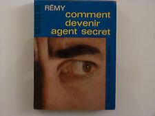 COMMENT DEVENIR AGENT SECRET / REMY  / 1963