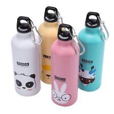 500ml Portable Travel Sports Bottle Aluminum Kids Water Bottle Cartoon Outdoor