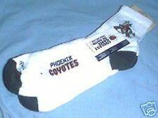 Phoenix Coyotes Logo Socks Size 9 -11 White