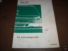 Werkstatthandbuch Saab 900 Automatikgetriebe ,von 1994