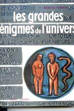 LES GRANDES ENIGMES DE L'UNIVERS - Richard Hennig 1957