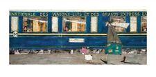 Sam Toft Orient Express Ooh La La Kunstdruck 100 x 50 cm