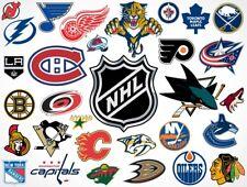 NHL - Puck Mat Hockey Team Logo