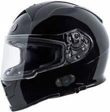 Torc T14B Gloss Black Bluetooth Helmet Blinc Full Face DOT XS-2XL