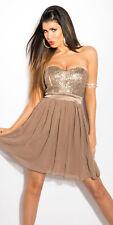 WOW sexy vestido de cóctel mini vestido con banda Lentejuelas Abi AÑO NUEVO