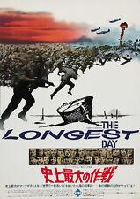 The Longest Day (1962) John Wayne movie poster print 3
