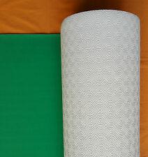 COPRITAVOLO MOLLETTONE PVC PROTEGGI/SALVATAVOLO DA GIOCO VERDE GOMMATO BIANCO