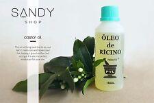 100% Pure Organic RICINUS | CASTOR OIL 10ml,30ml,50ml,150ml 1st Cold Pressed!
