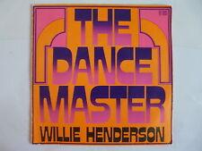 WILLIE HENDERSON The dance master 811001