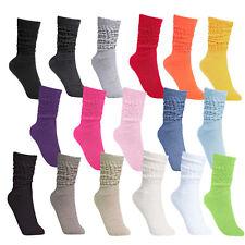 BRUBAKER Womens or Mens Fitness Workout Slouch Socks Gym