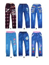 Bambini Kids Boy Girl Jeans Pantaloni Jeggings 1-5 anni