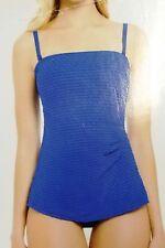 Gottex Essentials Ladies' one piece Swimsuit Soft Cup Blue 6 8 10 12