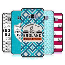 England Rugby Union 2017/18 Heritage Nero Opaco Custodia per Telefoni Samsung