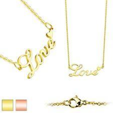 Coolbodyart da Donna in Acciaio Inox Collana Oro e Oro Rosa