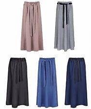 "Women's Long (35"") unlined Gypsy Midi/Maxi Skirts elasticated waist"