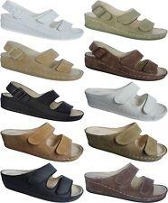 Clogs Damen Sabots Schuhe Sandalette Pantoletten Slipper Gr.36 - 42 Art.-Nr