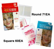 New Dressing Bandage of Hydrocolloid / Round 71EA, Square 60EA / Scar, Acne band
