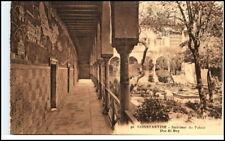 Constantine qusantina ~ 1910 palais Dar-el-Bey postcard