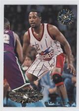 1995-96 Topps Stadium Club #224 Chucky Brown Houston Rockets Basketball Card