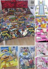 Kinder Steppdecke Bettbezug & Kissenbezug Bettzeug Sets Marvel Hello Kitty