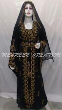 DUBAI MOROCCAN MODERN BRIDAL KAFTAN DRESS WEDDING GOWN FULL SLEEVE DRESS 2075