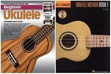 Ukulele Tutor Books -  Progressive with CD Or Hal Leonard with Audio Download