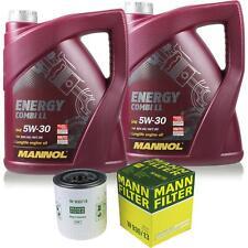Ölwechsel Set 10L MANNOL Energy Combi LL 5W-30 + MANN Ölfilter Service 10148918