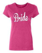BRIDE-white wedding gift bridal party bridesmaids Women's T-shirt