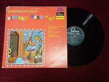 """LP ANDRE POPP """"Passeport pour Piccolo Saxo et Cie"""" FONTANA 826.576 QY µ"""