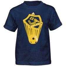 "LA Galaxy Adidas MLS Boys Navy Blue ""Transluscent"" T-Shirt"