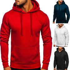 Kapuzenpullover Hoodie Sweatshirt Pullover Unifarben Men Herren BOLF 1A1 Classic
