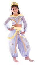 Jasmine Prestige Child Girls Costume Disney Princess  Aladdin Fancy Dress