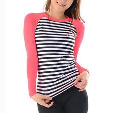 Belleap Rash Guard Womens Compression Long Sleeve Swimwear UV Protection 0528 UK