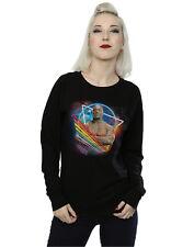Marvel Women's Guardians of the Galaxy Neon Drax Sweatshirt
